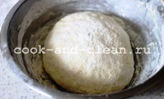 кальцоне с колбасой рецепт с фото