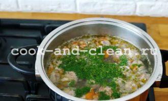 картофельный суп с фрикадельками пошаговый