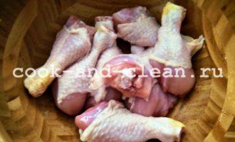 куриные голени в майонезе рецепт