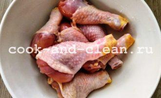 куриные голени со сметаной рецепт