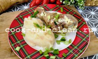 куриные голени со сметаной