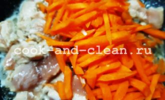 курица в кисло-сладком соусе простой