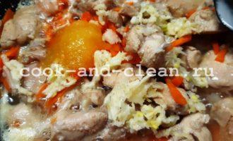 курица в кисло-сладком соусе рецепт