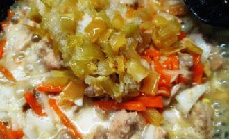 курица с перцем в кисло-сладком соусе