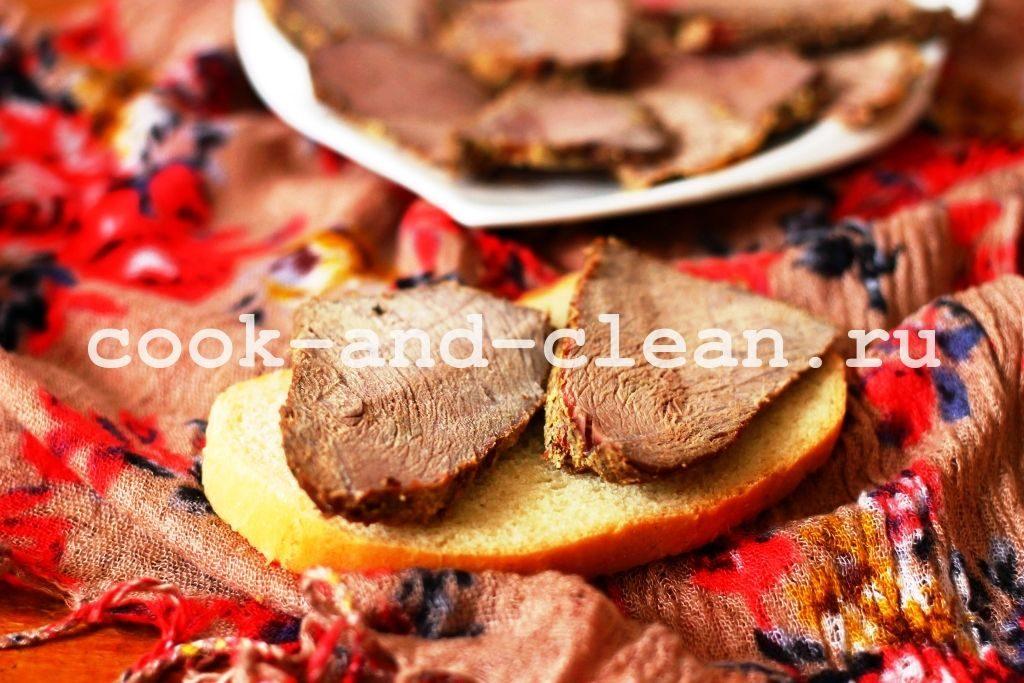 мясо на бутерброды