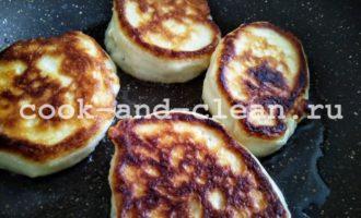 оладьи на кефире пышные с содой