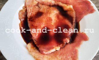 отбивные из свинины в соевом соусе рецепт с фото