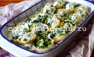 пельмени с грибами в духовке рецепт