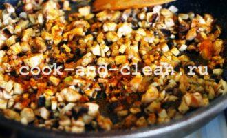 пельмени с грибами в духовке фото рецепт