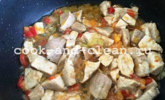 плов из перловки с мясом рецепт с фото