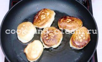пышные оладьи на кефире рецепт фото