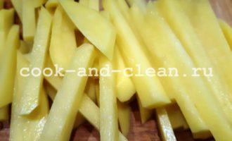 рецепт жареной картошки с чесноком