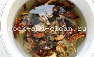 суп из сушеных грибов с картошкой фото