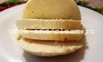 сыр из скисшего молока