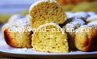 творожные булочки в духовке