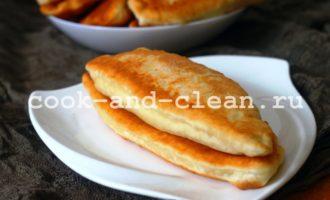 тесто для пирожков на сковороде