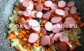 чечевичный суп с сосисками рецепт с фото