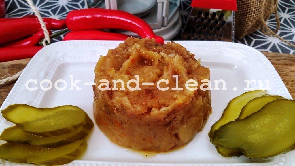 Картофель с мясом в скороварке