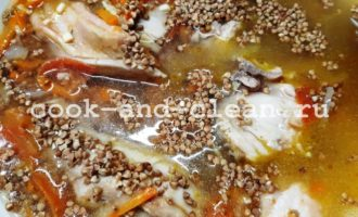 гречка с курицей рецепт на сковороде