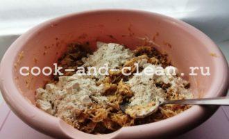 драники с гречкой пошагово