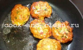 драники с колбасой рецепт