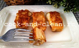 жареный плавленный сыр