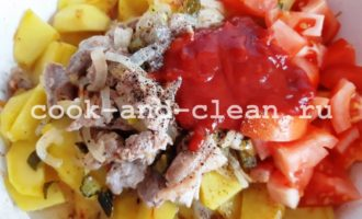 как готовить азу по-татарски из свинины
