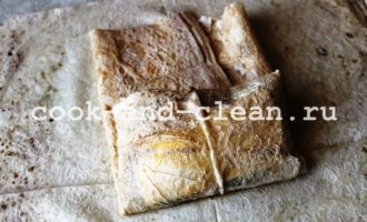 как приготовить шаурма с колбасой и сыром