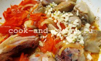 как сделать курицу с гречкой на сковороде