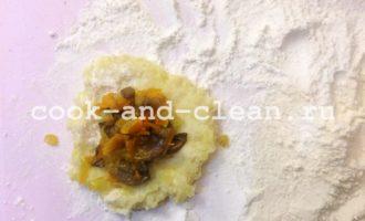 картофельные зразы с грибами и луком