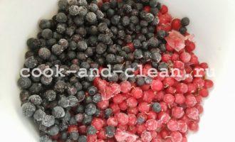 кисель из замороженных ягод пошаговый
