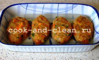 котлеты с гречкой и сыром рецепт фото