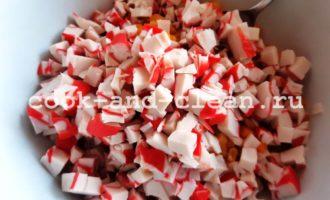 крабовые палочки перец болгарский рецепт салата