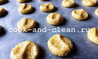 кунжутное печенье рецепт с фото