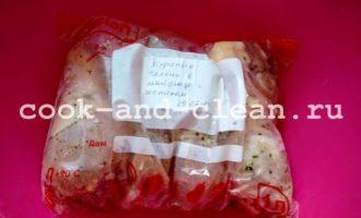 куриные голени в майонезе фото