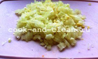 мимоза с рисом фото