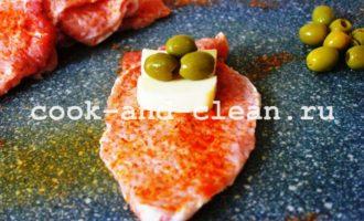 мясные рулетики с сыром рецепт с фото