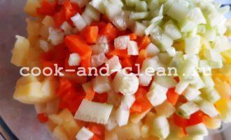 оливье без мяса и колбасы рецепт