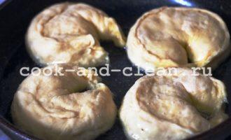 пирожки с яблоками на сковороде пошагово с фото