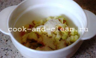 пирожки с яблоками на сковороде пошагово
