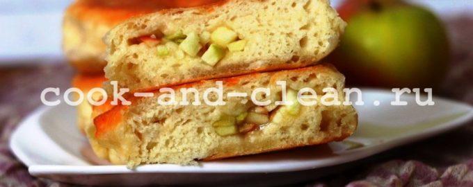 пирожки с яблоками на сковороде пошаговый рецепт