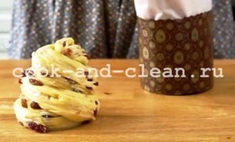 рецепт пасхального кулича с изюмом в духовке