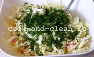 салат с колбасой и сыром рецепт с фото