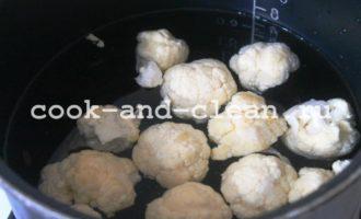 цветная капуста в духовке с яйцом фото