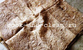 шаурма с колбасой и сыром рецепт с фото