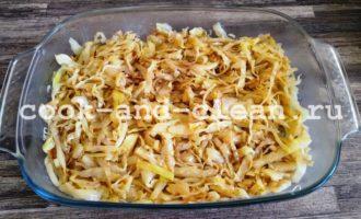 заливной капустный пирог на майонезе в духовке