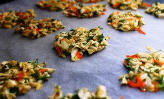 как приготовить овощные оладьи в духовке