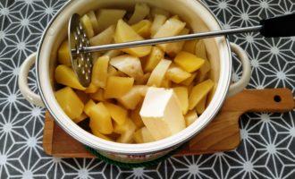 картофельное пюре со сметаной фото рецепт