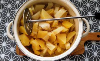 картофельное пюре со сметаной фото