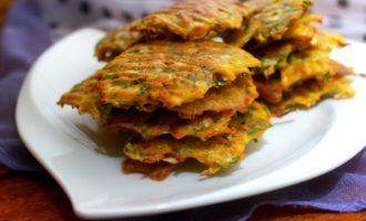 овощные оладьи в духовке рецепт